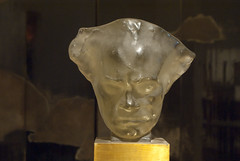 Brighton Museum - Glass Face