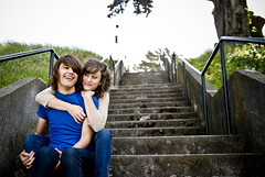 Such an Awesome couple (urbanshutterbug) Tags: sanfrancisco boy love girl smile couple thecity