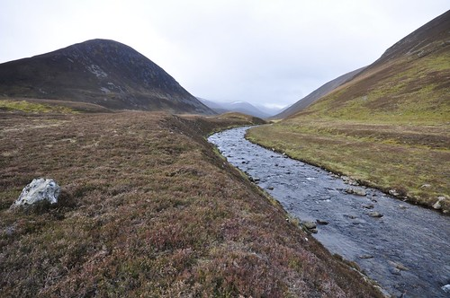 The Ey Burn and Creag an Fhuathais