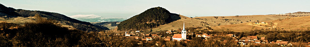 Panorama of Homorodalmas