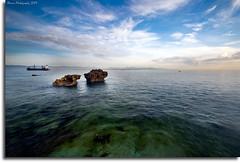 """Twins on Discovery Bay"" :: Mactan Cebu (alner_s) Tags: blue sky beach nikon sigma 1020mm discoverybay d60 sigma1020mm cebusugbo nikond60 vosplusbellesphotos garbongbisaya"
