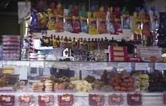 The Snack Cart (Jitterro) Tags: film losangeles snacks downtownla olverastreet 100iso downtownlosangeles yashicalynx5000 fujisuperiareala100iso jitterro laphotocontest09
