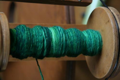 random green fiber