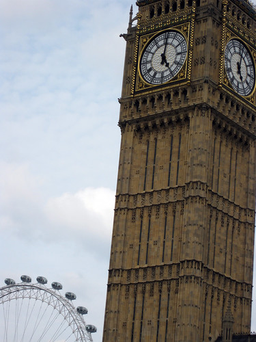 big ben +  london eye