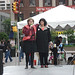 Pamela Rice, organizer, & Karen Davis, UPC