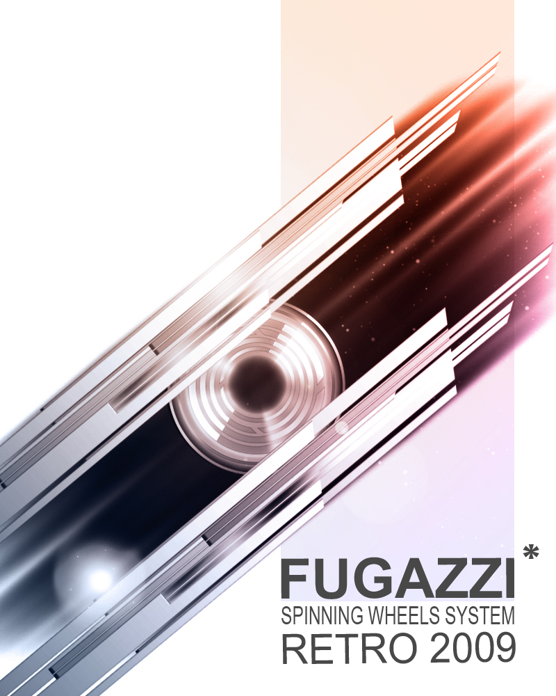 Digital abstract : Fugazzi retro