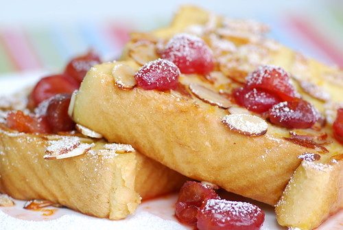 cherry French toast 3