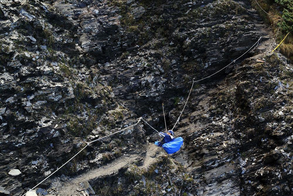 奇萊Day2-26 碎岩斷崖