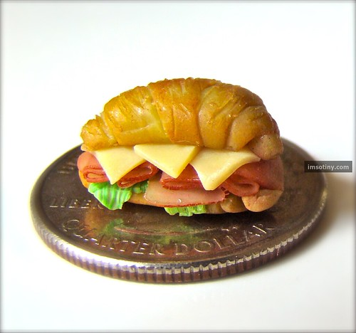 Jessica Hlavac Croissant Sandwich