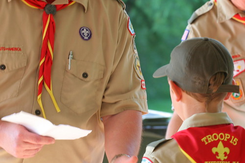 1st Boy Scout Court of Honor