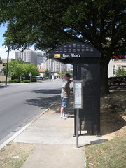 Bus Stop on Gaston