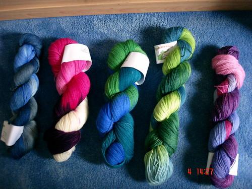 Drachenwolle gekauft