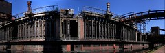 Zollverein - Kokerei/Coking Plant (c-h-l) Tags: autostitch panorama germany deutschland essen industrial unescoworldheritagesite unesco nrw industrie 2009 zollverein zeche zechezollverein kokereizollverein kokerei weltkulturerbe cokingplant zollvereincokingplant routederindustriekultur europeanrouteofindustrialheritage zollvereincoalmineindustrialcomplex