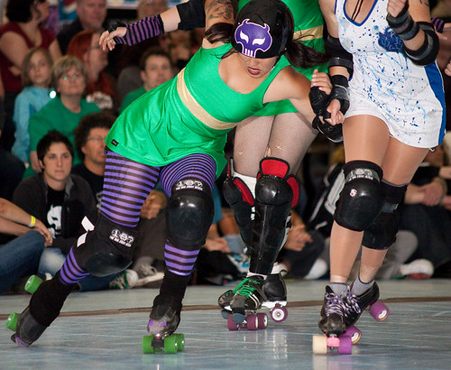 Rose City rollers, portland derby