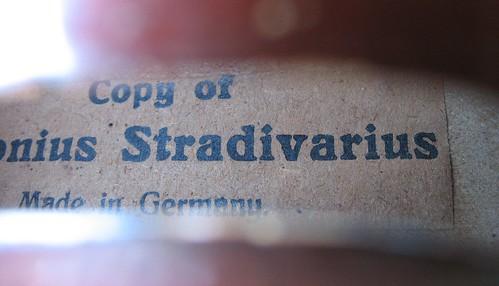 Violin Antonius Stradivarius Copy Made In Germany - Website of xepuvine!