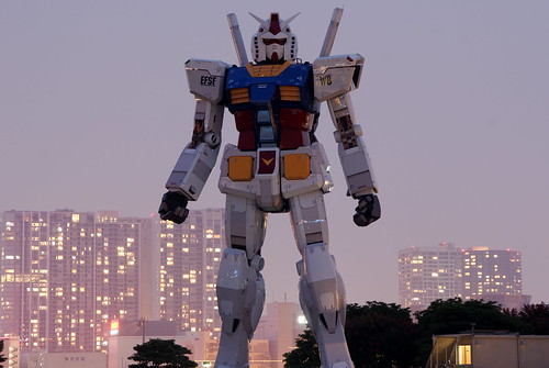 Gundam in Tokyo