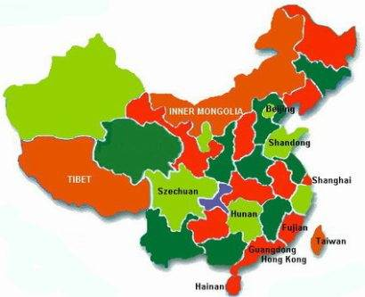 Map of China 1