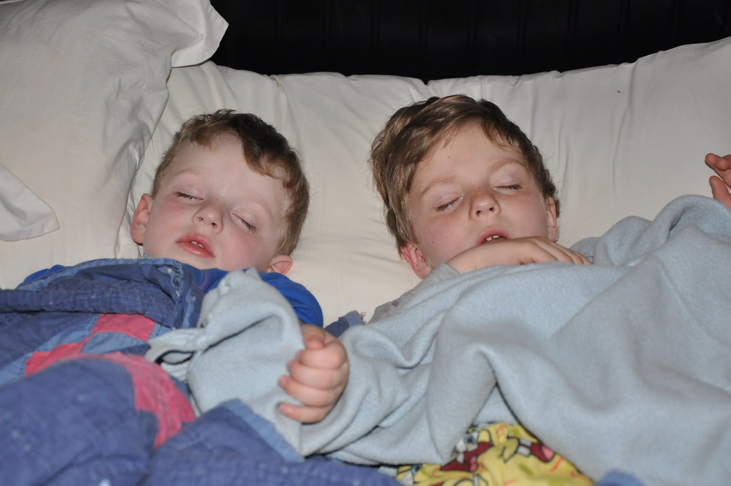 Ben & Jack Sleeping in My Bed 2