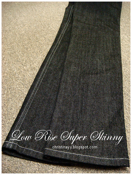 Lee Riders:Low Rise Supper Skinny