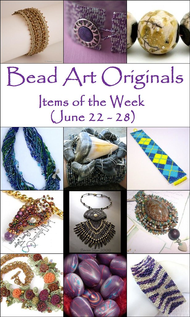 Bead Art Originals Items of the Week (6/22-6/28)