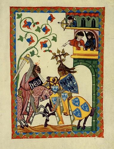 002-Frederick II de Leinigen-Codex Manesse