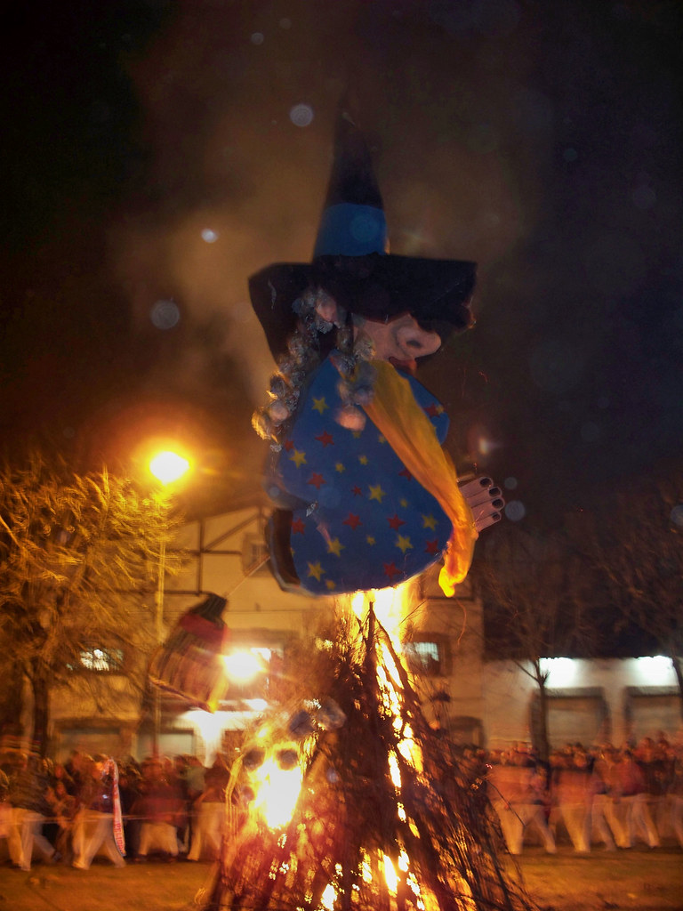 The Witch Goes Up in Flames by katiealley on Flickr