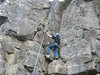 Climbing at Llangattock September 2007: