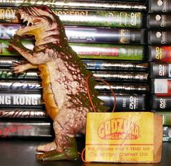 1980 Ben Cooper Godzilla Jiggler (mrramsey37) Tags: rubber godzilla bencooper jiggler