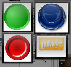 The four most important buttons on my Dashboard