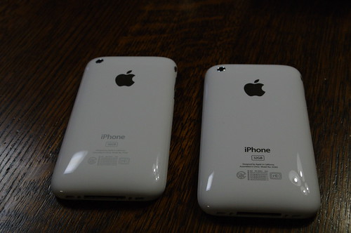 iPhone 3G and iPhone 3GS