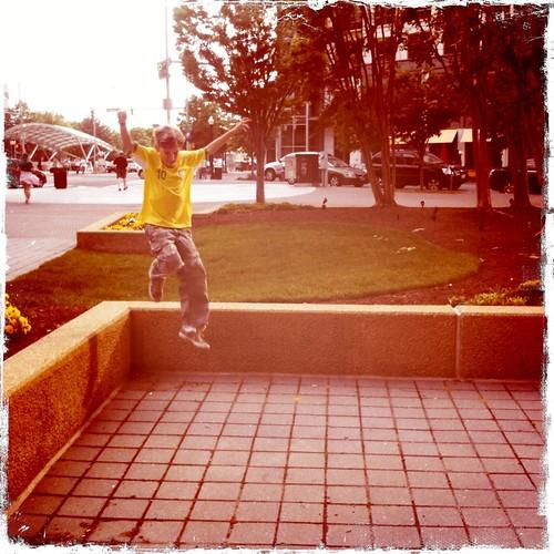 Jumping Joshua