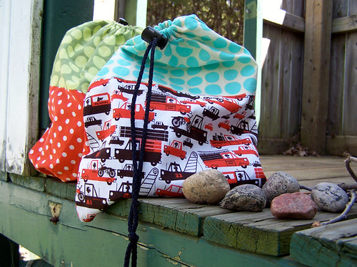 Drawstring bags for boys