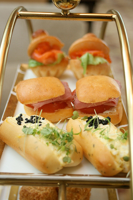 Sandwiches tray