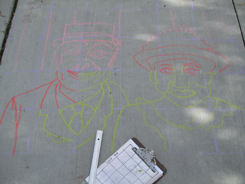 Chalked Billy & Josie, #1