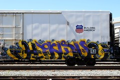 Hindue (208 Bench) Tags: art train graffiti graff freight gtb armn