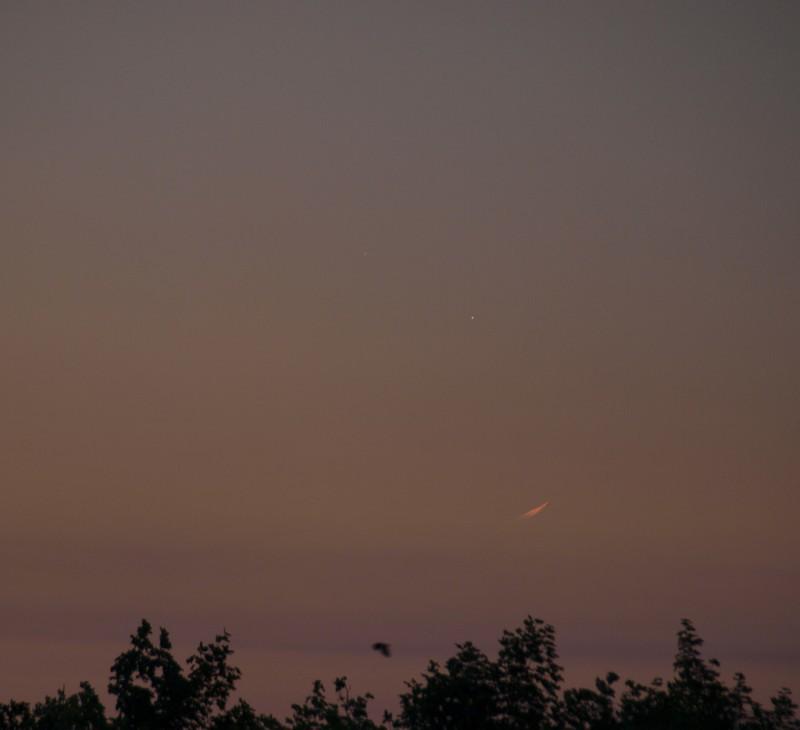 Venus und Jupiter, 11.Mai 2011, 5:10 MESZ