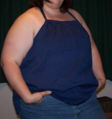 Halter top from shirt
