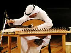 Before the performance (Mink) Tags: music evening dar musical instrument kuwait tuning oud kuwaiti salman alamari