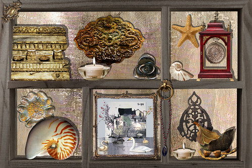 Shadowbox, for Collage Obsession