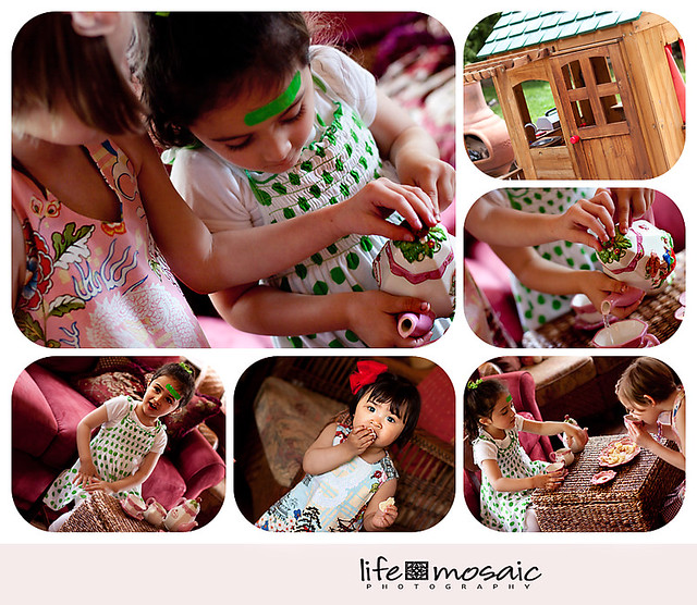 Blog Collage Girls Tea Party