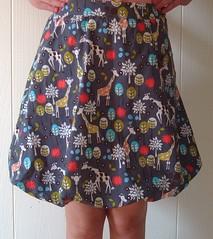 giraffe bubble skirt 2