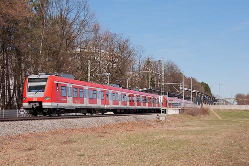Nur auf den Außenästen fährt die S-Bahn an Pfingsten. Auf der Stammstrecke steht der Verkehr still.