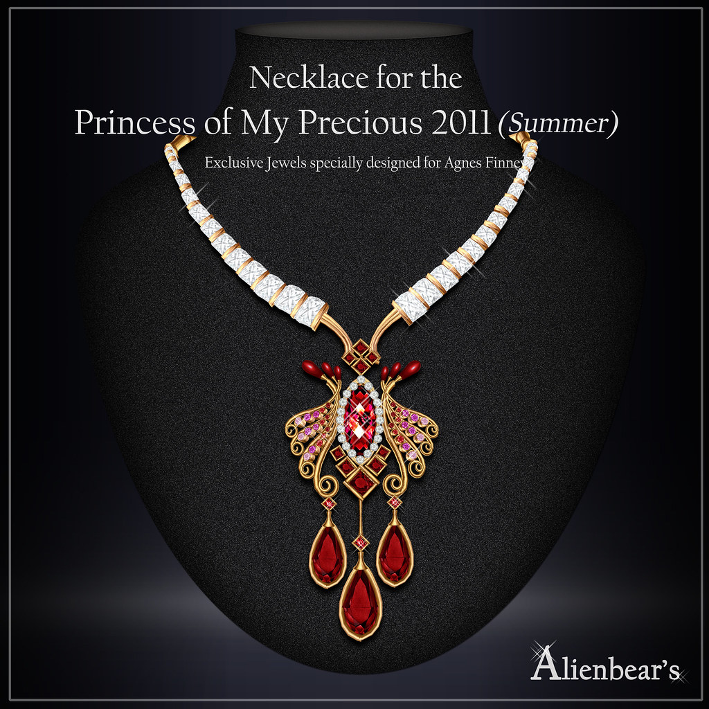 necklace for Princess of My Precious 2011 Summer