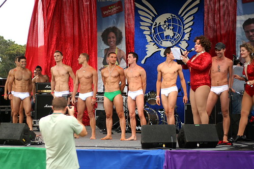 Gratuitous Underwear Competition Photo