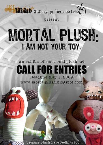 MORTAL PLUSH x