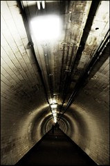 There is a light in the tunnel (Jan Bakker) Tags: light london underwater crossing greenwich tube tunnel underthethames