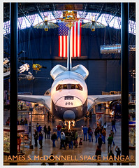 Space Shuttle Enterprise (Jeff_B.) Tags: moon smithsonian dulles space aviation air nasa shuttle rocket rockwell enterprise stevenfudvarhazycenter shittle