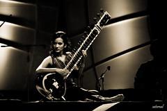 Anoushka Shankar (explored) (saternal) Tags: bangalore sitar habba bengaluru blackwhitephotos anoushkashankar saternal bengaluruhabba