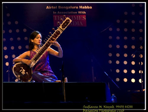 21st Feb-Palace Grounds-Anoushka Shanker Show-01