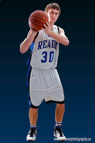 Ryan in Basketball Uniform